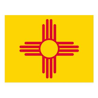 Decoración del diseño de la bandera del estado de postales