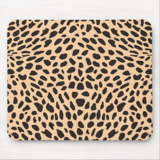 Decoración del guepardo de la piel alfombrilla de raton
