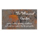 Decoración del jardín de la cerámica de la tarjetas de visita