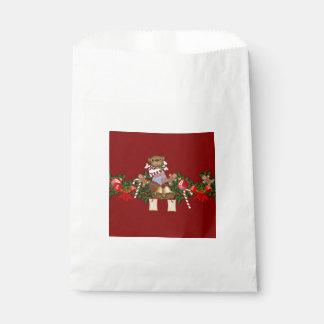 Decoración del navidad bolsa de papel