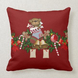 Decoración del navidad cojín decorativo