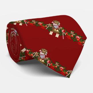 Decoración del navidad corbata