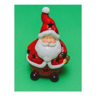"""Decoración del navidad de Papá Noel Folleto 8.5"""" X 11"""""""