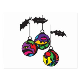 Decoración del navidad - globos postales
