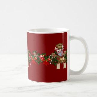 Decoración del navidad taza de café