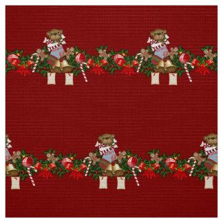 Decoración del navidad telas