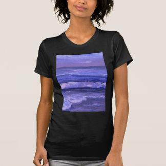 Decoración del océano del arte de las ondas del ma camisetas