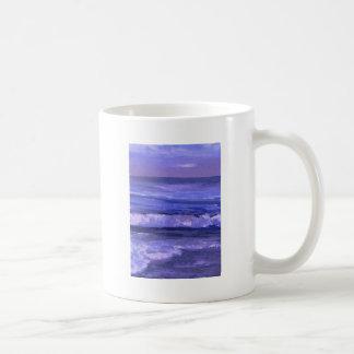 Decoración del océano del arte de las ondas del ma taza
