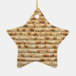 Decoración del ornamento de la estrella del ornamentos de navidad