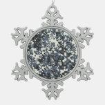 Decoración del ornamento del copo de nieve del nav adorno