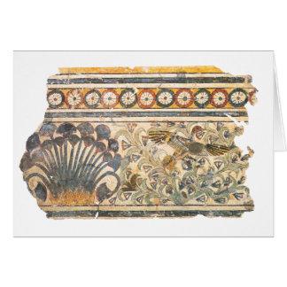 Decoración del palacio tarjeta de felicitación