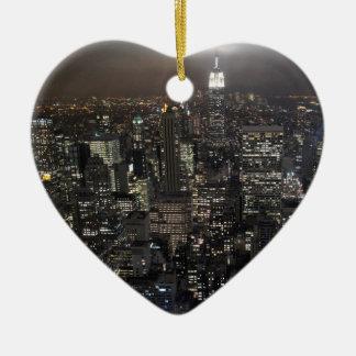 Decoración del recuerdo de Nueva York del ornament Adorno De Navidad