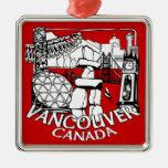 Decoración del recuerdo del ornamento de Vancouver Adorno De Navidad