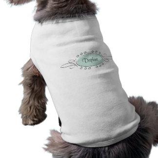 Decoración del remolino camisetas de perro