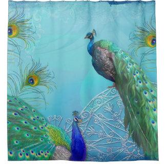 Decoración elegante elegante de la ducha de las cortina de baño