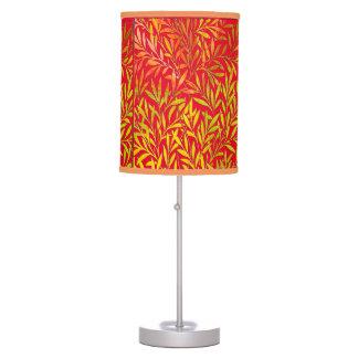 Decoración en folio lámpara de mesa
