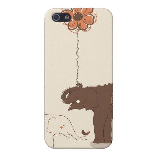 Decoración floral de moda iPhone 5 fundas