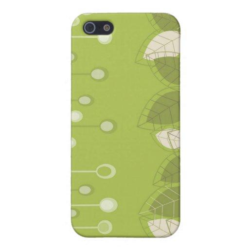 Decoración floral i iPhone 5 funda