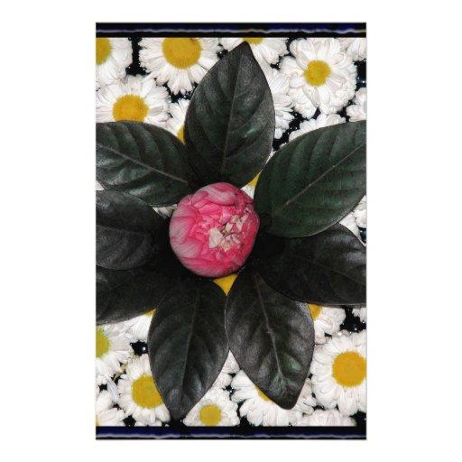 Decoración floral  papeleria de diseño