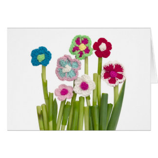 decoración floral tarjeta de felicitación