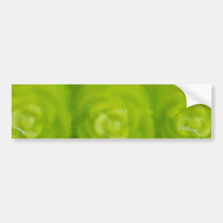 decoración floral verde pegatina para auto