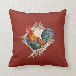 Decoración francesa del hogar de la antigüedad del almohada