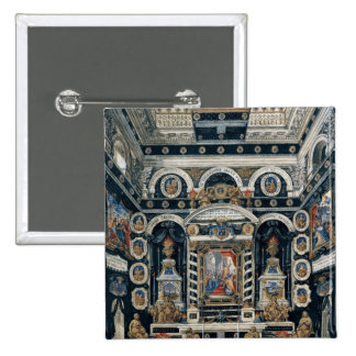 Decoración funeraria a la memoria de Enrique II Pin Cuadrado