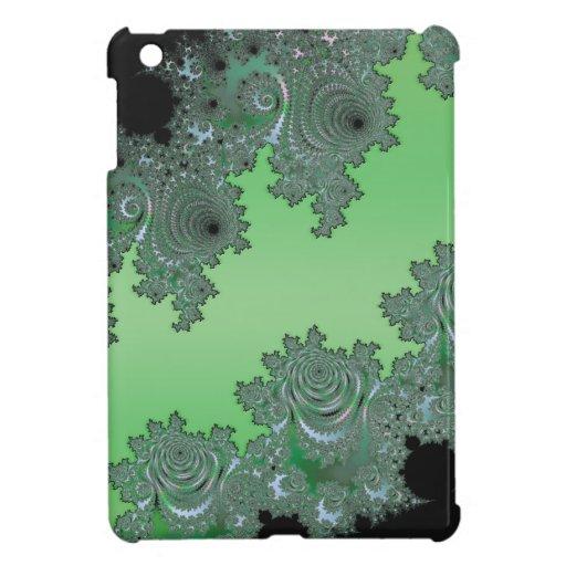 Decoración ideal verde del fractal