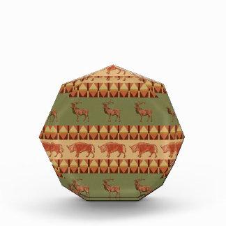 decoración indígena del modelo de los ciervos