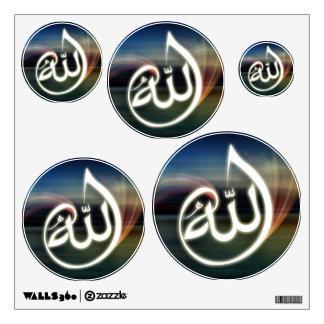 Decoración islámica hermosa de la pared de la cali vinilo adhesivo