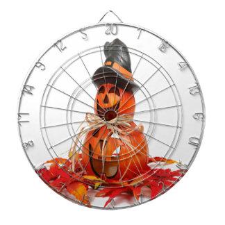decoración linda de Halloween de la calabaza Tabla Dardos