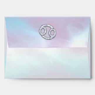 Decoración nacarada del símbolo del zodiaco del sobres