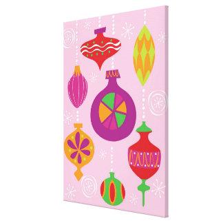 Decoración numerosa del navidad ilustrada en diffe impresión en lona