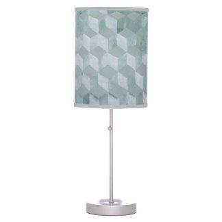 Decoración óptica de la lámpara del gris de plata