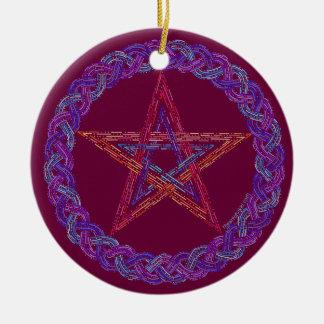 Decoración pagana del día de fiesta de Wicca del Adorno Para Reyes