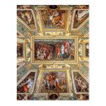 Decoración Palazzo Vecchio Florencia Giorgi del Tarjeta Postal