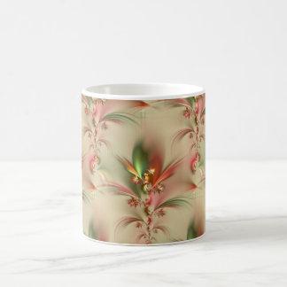 decoración/papel pintado de la flor taza