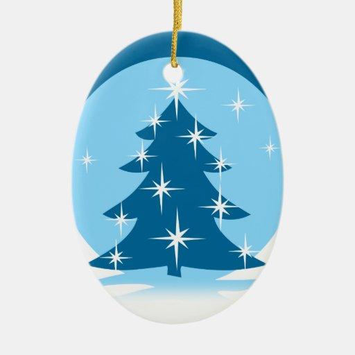 Decoración personalizada ornamento del invierno de ornamento de navidad