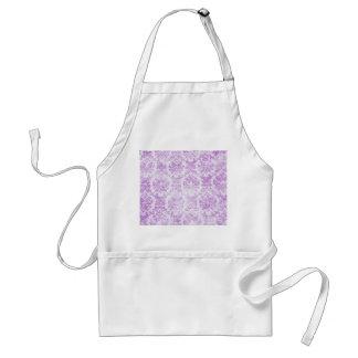 Decoración púrpura de la cocina de la adaptación d delantal