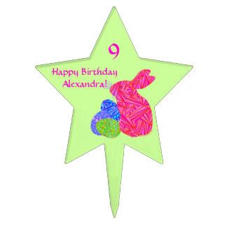 Decoración temática de la fiesta de cumpleaños de decoración de tarta