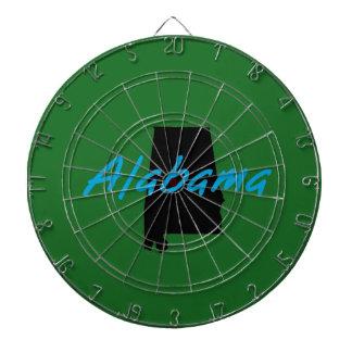 Decoración temática del estado de Alabama