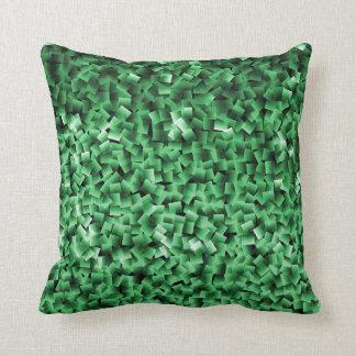 Decoración - una almohada verde clara