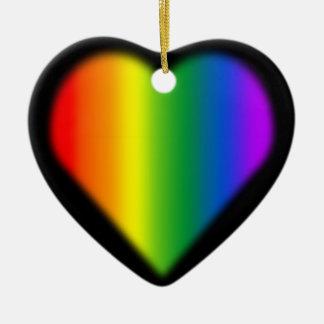 Decoración unisex gay del amor del ornamento del o adorno de reyes