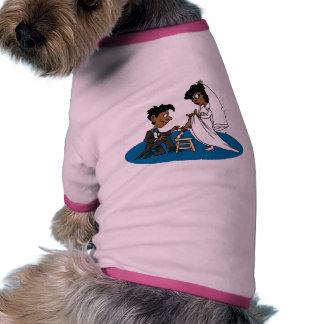 Decoraciones 34 del boda camisetas de perro