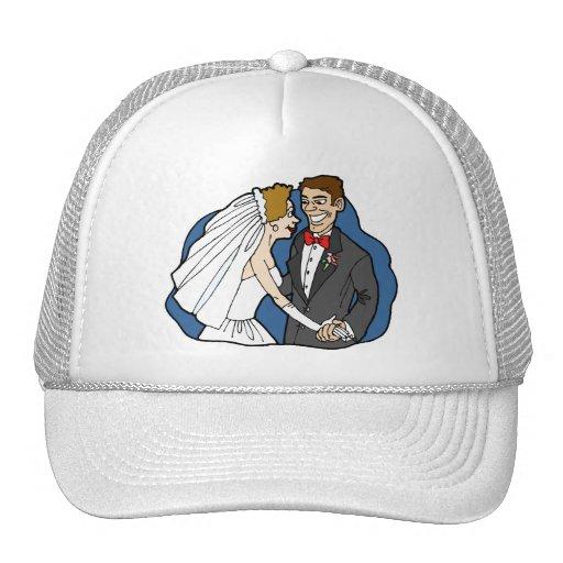 Decoraciones 38 del boda gorras