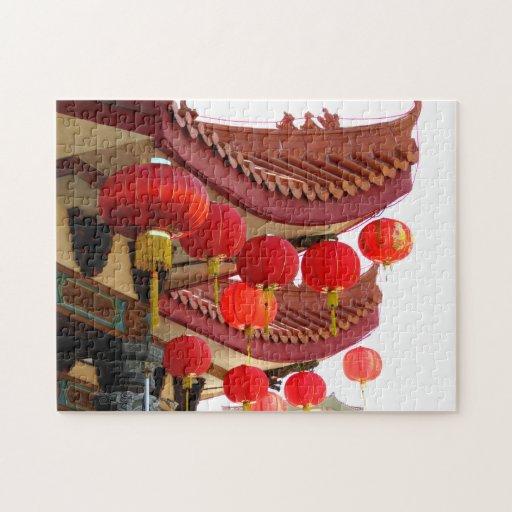 Decoraciones chinas puzzles