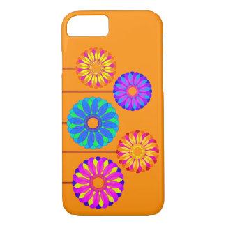 Decoraciones de la flor del día de fiesta funda iPhone 7