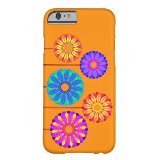 Decoraciones de la flor del día de fiesta funda para iPhone 6 barely there