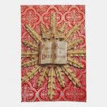 Decoraciones de la iglesia católica toallas de cocina