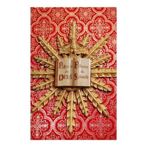 Decoraciones de la iglesia católica papeleria de diseño